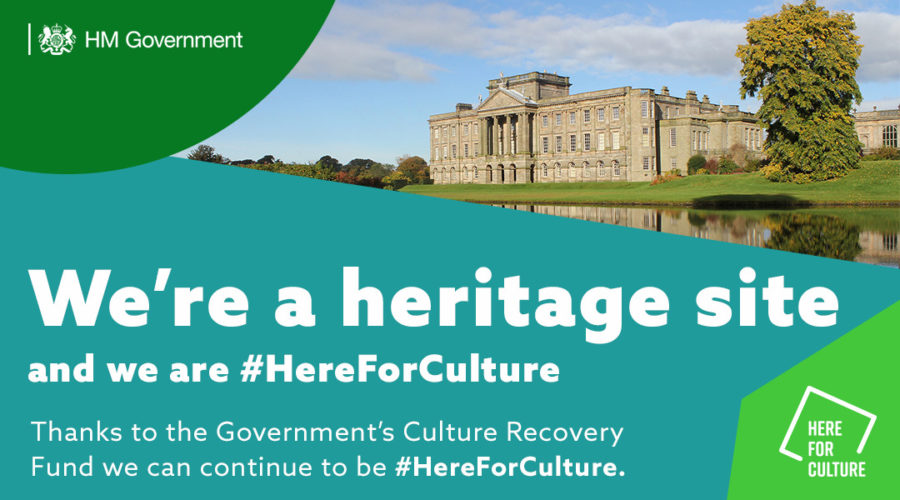 We're a heritage site and we are #HereForCulture